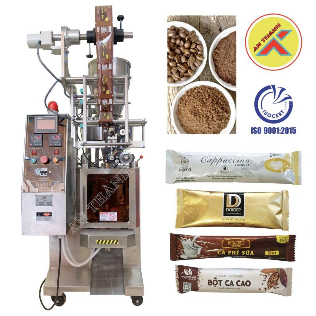 Máy đóng gói bột cà phê là loại máy đóng gói phổ biến hiện nay