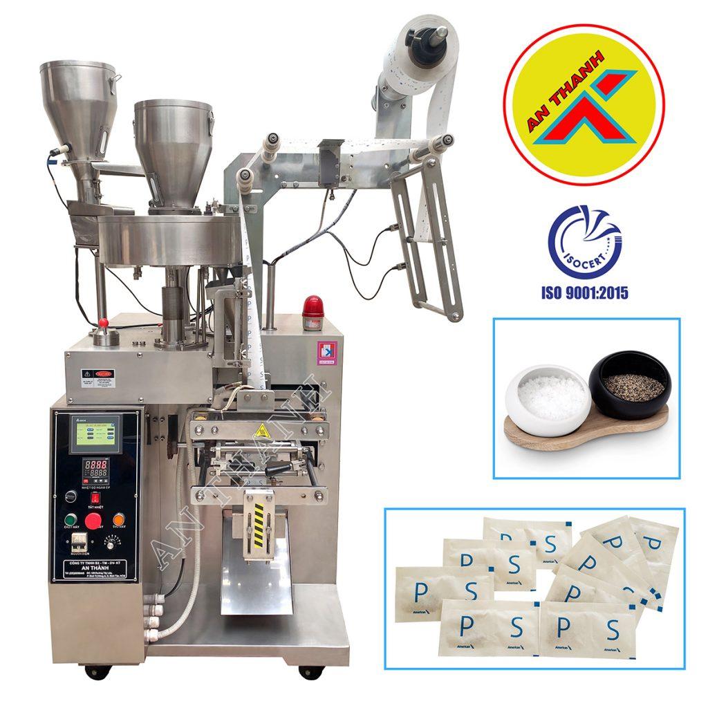 Máy đóng gói bột keo chà ron là dạng máy đóng gói định lượng trục vít. Thiết bị này giúp cho quá trình đóng gói sản phẩm được chính xác và nhanh chóng.
