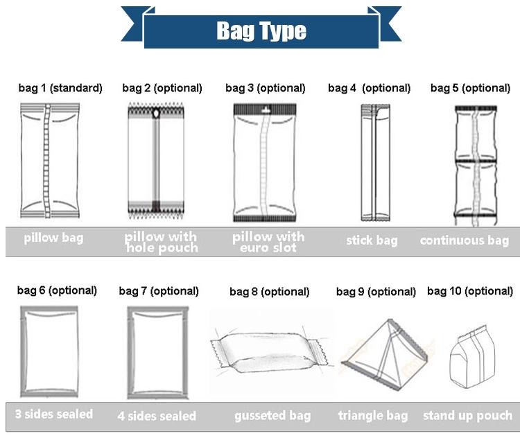 Linh hoạt theo từng yêu cầu về máy đóng gói gia vị, cho phép tạo hình túi như mong muốn bằng những loại dưỡng đa dạng.