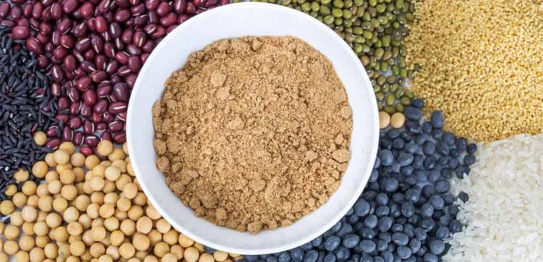 Bột ngũ cốc được sử dụng rất nhiều trong cuộc sống hàng ngày
