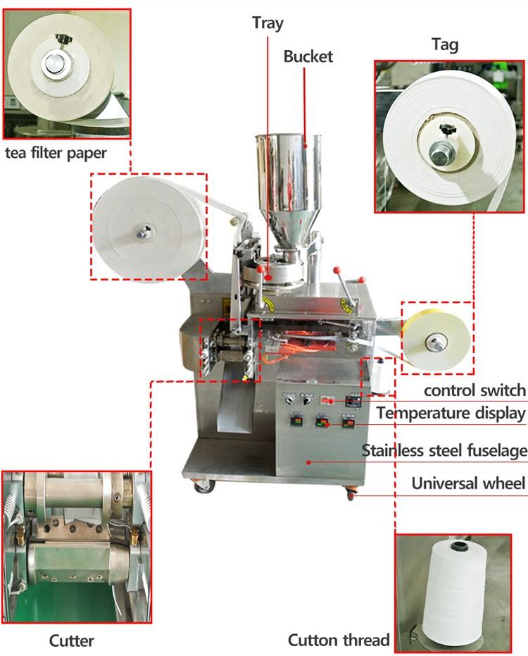 Máy đóng gói trà túi lọc 3 trong 1 được coi là dây chuyền sản xuất với công nghệ hiện đại tiên tiến so với các thiết bị cùng thời điểm. Ưu điểm ở máy đóng gói này là sự sai sót được xử lý với mức thấp nhất và hầu như là bằng không. Cho nên, thiết bị được nhiều cơ sở, hộ kinh doanh tin dùng đưa vào sản xuất Các loại máy đóng gói trà túi lọc 3 trong 1 trên thị trường hiện nay: Máy đóng gói trà túi lọc 3 trong 1 có rất nhiều dạng và mẫu mã khác nhau. Để phù hợp với nhu cầu sản xuất cũng từ cơ sở hay doanh nghiệp mà nhiều máy đóng gói được sản xuất để đáp ứng. Tất cả các quá trình đều được thiết lập tự động, nâng cao quá trình sản xuất. Cấu trúc máy được cấu tạo với nâng suất sản xuất cao, thời gian hoạt động lâu dài, bền bỉ và hiệu quả đáng kinh ngạc. Công việc chính của máy đóng gói là cho ra ngoài thị trường các loại sản phẩm vừa chất lượng vừa hợp vệ sinh, giá thành lại rẻ và thu hút với người tiêu dùng Trên thị trường hiện nay, sản phẩm được đưa ra xuất khẩu ra thị trường rất nhiều. Nâng tầm sản phẩm của Việt Nam lên một bước tiến với thế giới. Sản phẩm của chúng ta ngoài chất lượng cao ra còn được đánh giá là giá thành lại rẻ, phù hợp với nhiều tầng lớp của xã hội nên lượng tiêu thị ngày càng cao Hãy cùng Máy đóng gói An Thành tìm hiểu qua bài viết dưới đây, các loại máy đóng gói trà túi lọc 3 trong 1 có điểm gì thu hút các cơ sở và doanh nghiệp nhé! Máy đóng gói trà túi lọc 3 trong 1 tự động: Ngoài trà túi lọc ra, máy đóng gói còn có thể đóng gói các sản phẩm tương tự như trà sức khỏe, trà hoa, trà thảo mộc, trà gừng, trà táo,... Tất cả các loại trà đều được sấy khô, đảm bảo được độ vệ sinh,... trước khi đưa đi đóng gói và đến tay người tiêu dùng. Dù là sản phẩm chỉ dùng một lần nhưng cách đóng gói đều đúng quy trình Một số tính năng về máy đóng gói: 1) Hệ thống điều khiển máy tính đầy đủ PLC nhập khẩu, màn hình cảm ứng màu, dễ vận hành, trực quan và hiệu quả cho tất cả mọi người có thể vận hành thiết bị 2) Hệ thống vận chuyển màng servo nhập khẩu, cảm biến mã mà