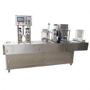 Máy đóng gói thạch rau câu với công nghệ tiên tiến hiện đại, có các tính năng đóng gói vượt mặt so với các máy đóng gói cùng loại,... mang đến cho cơ sở, doanh nghiệp khả năng sản xuất tăng cao, sản phẩm được tạo ra phong phú và đa dạng hơn Thiết bị được coi là thiết bị đóng gói đa năng có thể đóng gói các dạng sản phẩm khác như bánh dạng bánh bút, dạng que, bơ, chất lỏng,... Đặc điểm chính của máy là chế độ đóng gói tự động, áp dụng cho hình dáng bao bì đa dạng, đáng tin cậy, dễ dàng thao tác và tiết kiệm được chi phí đóng gói. Tìm hiểu ngay đặc điểm và tính năng nổi trội của máy đóng gói rau câu ngay sau đây cùng máy đóng gói An Thành Máy đóng gói thạch rau câu dạng que: Bao bì đóng gói rau câu có nhiều hình dáng khác nhau, kiểu dáng đa dạng phụ thuộc vào doanh nghiệp 3 cạnh, 4 cạnh, túi ép biên, túi gối,.... Máy cũng có thể đóng gói các sản phẩm khác như các loại sữa, nước chấm, nước sốt, nước trái cây, nước tẩy, dầu gội, sữa chua,.... Máy đóng gói thạch rau câu dạng que Những đặc điểm chính: Với chức năng tự động điền, đo lường, hình thành túi, in mã, niêm phong và cắt. Hệ thống tạo túi sử dụng động cơ bước với màn hình Touch chính xác cao . Bộ điều khiển thông qua hiển thị tiếng Trung hoặc tiếng Anh, có thể xem các điều kiện làm việc trực tiếp. Với hệ thống điều khiển quang điện thông minh. Máy toàn thân bằng thép không gỉ 304. Độ chính xác cao. Tầm nhìn tốt với tấm bảo vệ mở bên hông, vận hành an toàn. Sử dụng các bộ phễu mới nhất, dễ dàng điều chỉnh và làm sạch, không cần điều chỉnh lại sau khi làm sạch, do đó có thể nâng cao hiệu quả làm việc Máy này thích hợp để đóng gói các sản phẩm dạng hạt, túi có thể lựa chọn niêm phong 3 mặt hoặc 4 cạnh hoặc niêm phong mặt sau tùy theo nhu cầu của khách hàng. Máy in ruy-băng có thể bổ sung tùy theo nhu cầu của khách hàng, có thể in từ một đến ba dòng chữ, ngày sản xuất và số lô. Ngoài rau câu, máy đóng gói các dạng thực phẩm khác Chi tiết các bộ phận của máy đóng gói thạch rau câu: Con lăn phim: Phim có thể được thay t