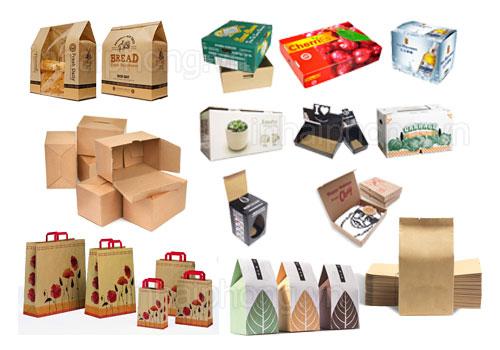 Máy đóng gói giấy là thiết bị bảo quản sản phẩm khỏi tác nhân môi trường, sự oxi hóa,.... Tạo cho sản phẩm với vẻ ngoài chắc chắn lại đẹp mắt, thu hút khách hàng, người tiêu dùng,....  Đối với máy đóng gói hiện nay trên thị trường, có rất nhiều máy đóng gói giấy khác nhau như đóng gói giấy A4, giấy carton, giấy ăn, giấy gói quà,.... Nếu bạn muốn biết nhiều hơn các máy đóng gói khác nhau, hãy cùng theo dõi máy đóng gói An Thành qua bài viết dưới đây để xem thử cách tạo ra sản phẩm từ máy đóng gói giấy như thế nào nhé!  Máy đóng gói giấy ăn:  Giấy ăn được sử dụng nhiều trong đời sống hằng ngày như trong các bữa ăn gia đình, nhà hàng, quán ăn, vệ sinh hằng ngày, lau chùi chén, dĩa,...  Máy đóng gói giấy ăn  Giấy ăn có thể ở nhiều hình dạng, kích thước, mẫu mã khác nhau,... và cách đóng gói cũng khác nhau. Có thể được đóng gói ở trong hộp giấy, bịch nilong, túi giấy,... dù là gì việc quan trọng là giữ cho sản phẩm không bị bụi bặm từ bên ngoài bám vào  Máy đóng gói giấy ăn có thể đóng gói ở dạng bán tự động, tự động,... Để phù hợp cho các cơ sở hay doanh nghiệp lựa chọn với qui mô của mình  Đặc điểm và tính năng của thiết bị:  Tùy vào đặc điểm của máy mà bạn có thể lựa chọn cho phù hợp với cơ sơ sản xuất của mình.  Đối với máy đóng gói giấy ăn có nhiều tốc độ để bạn có thể chỉnh ̀500-600 chiếc/phút, tốc độ cao hơn 800-1000 chiếc/phút,... và để thu hút người tiêu dùng hơn, giấy ăn hiện tại có thêm hoa văn, màu sắc để trông bắt mắt hơn.  Máy đóng gói giấy thường có các con lăn Anilox thép đối với máy đóng gói thường, con lăn Anilox gốm sứ cho máy đóng gói cao cấp hơn,... để có thể in hoa văn nổi lên giấy ăn, tạo ra sản phẩm chất lượng về mặt hình thức lẫn sản phẩm  Các bước trong sản xuất giấy ăn  Trên mỗi máy đóng gói đều được trang bị bộ điều khiển thông minh bằng khí nén, bộ phận dập nổi, máy tự động cắt, đếm sản phẩm,...  Một máy đóng gói giấy ăn có thể thực hiện các cách gấp khác nhau trong một máy, gấp 1/4, gấp 1/6, gấp 1/8 và gấp 1/12 tất cả đều có trong một máy. C